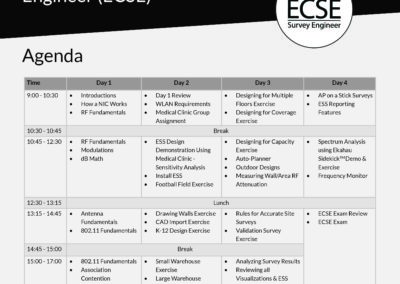 ECSE_Agenda_2018